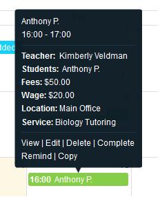 efficient lesson scheduling