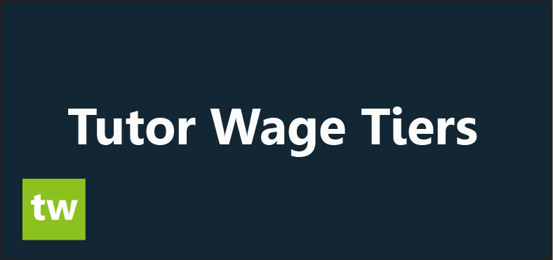 Calculating Tutor Wages