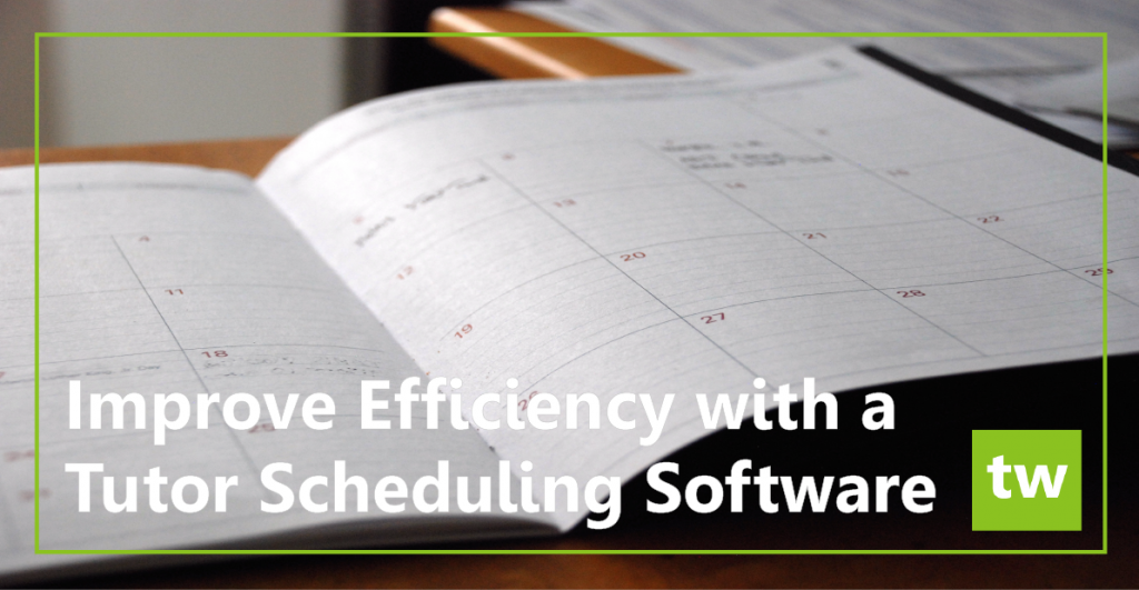 tutor scheduling software