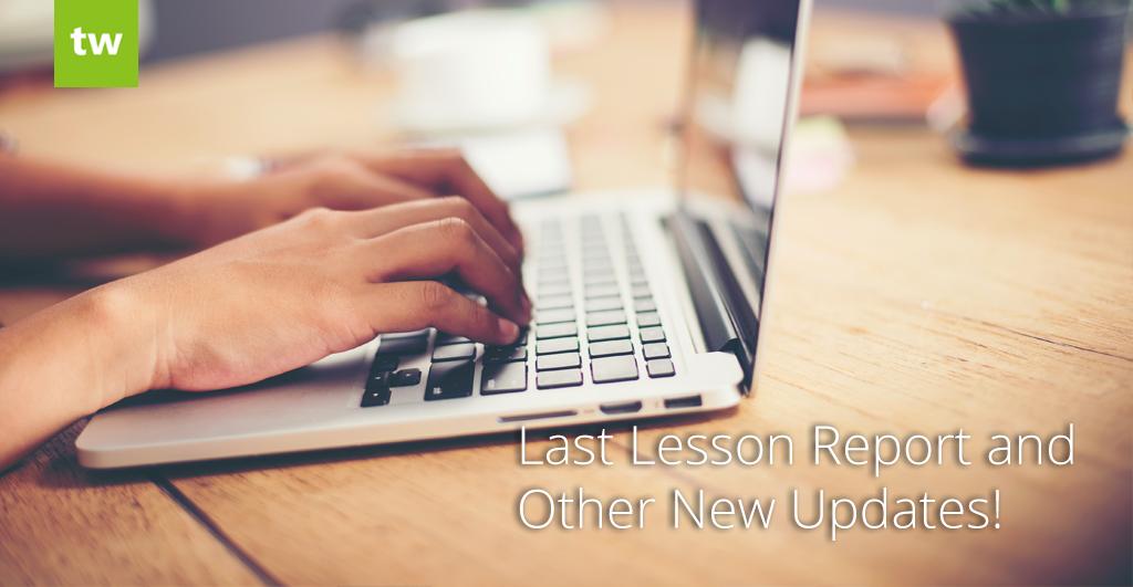 teachworks updates