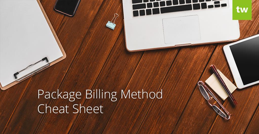 Package Billing Cheat Sheet