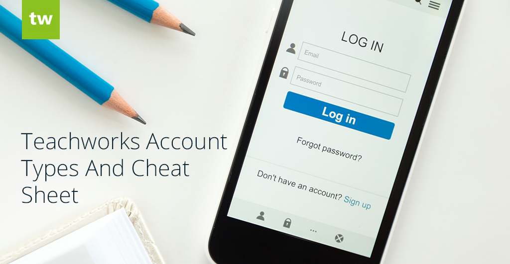Teachworks User Accounts and Cheat Sheet