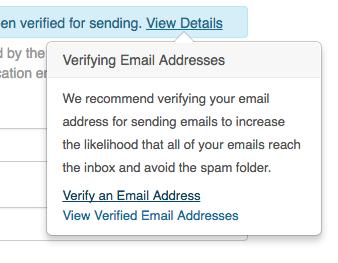 Verify An Email Address