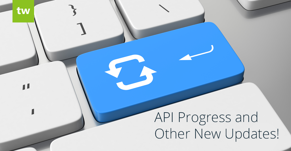 API and other updates