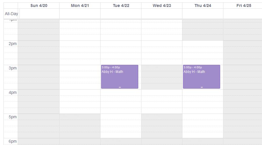 unavailable_calendar