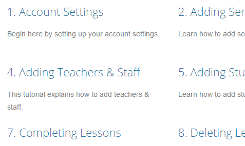teachworks tutorials