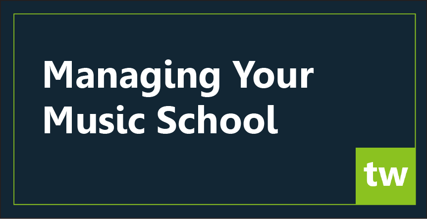 manage your music school