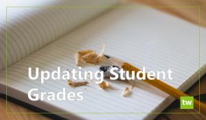Updating Student Grades
