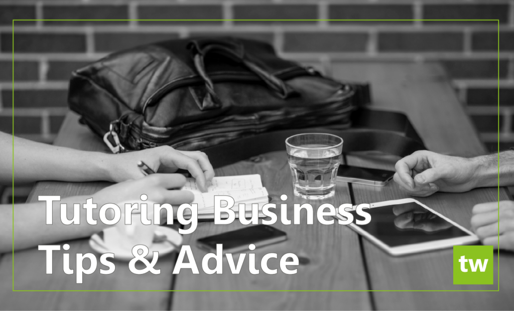 tutoring business advice