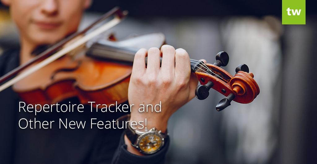 repertoire tracker