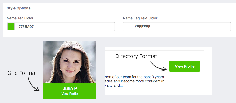 Website Profiles Add-On