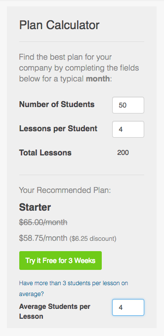 Teachworks Pricing