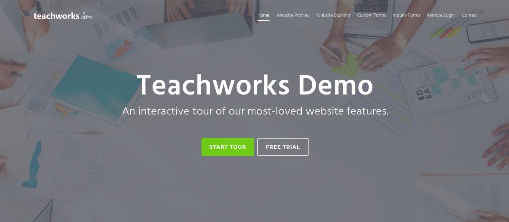 Teachworks Demo Website