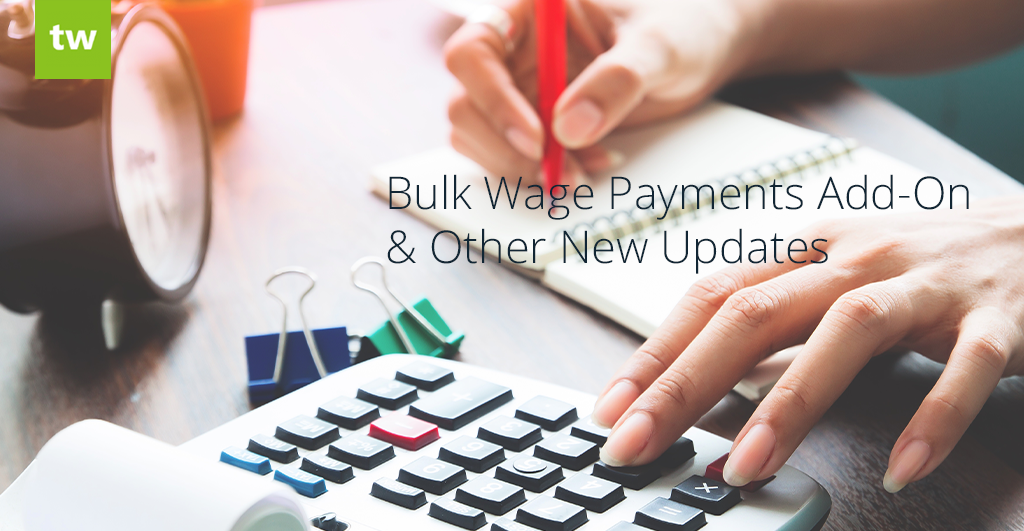 Bulk Wage Payments Add-On