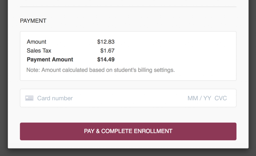 Online Booking Plugin - Pay with Stripe