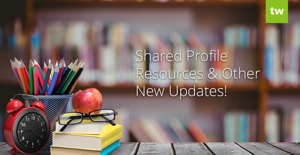 Shared Profile Resources Add-On