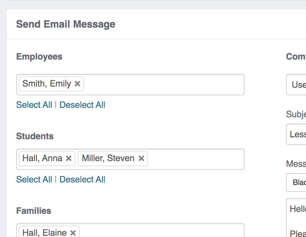 Multiple Recipient Email Add-On