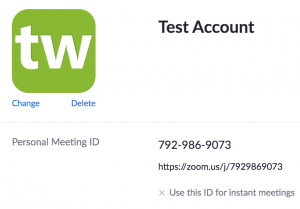Getting Your Meeting Room URL