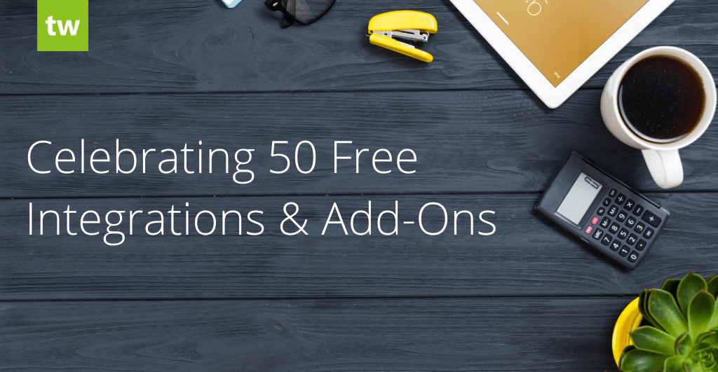 Celebrating 50 Free Integrations & Add-Ons